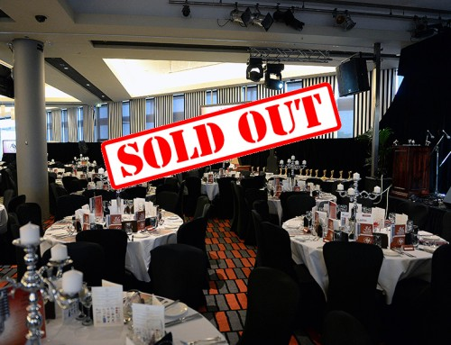 The Awards Night Tickets are now SOLD OUT!