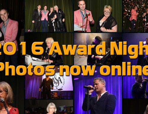 2016 Award Night Photos are now online in our Photo Gallery