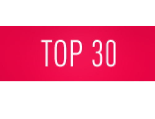 2019 Top 30 List has now been published on this website!