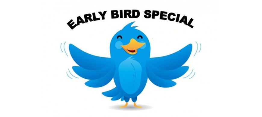 Early Bird tickets now available and Songwriting Awards official shortlist is about to be emailed THIS week!